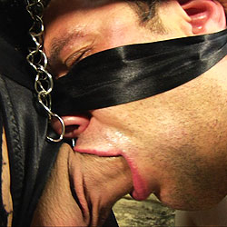 Ts mistress punishes her new slave.